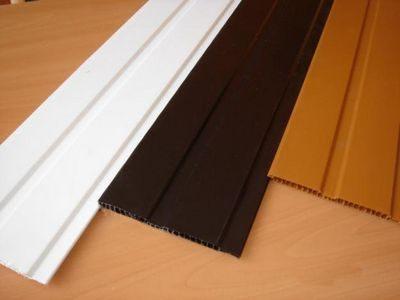 Конфигурация поперечного среза виниловых панелей