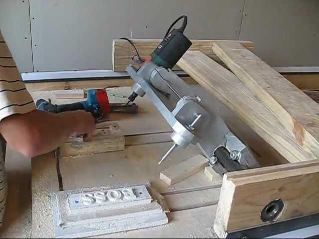 Универсальный стол для фрезера и циркулярСнеговики своими