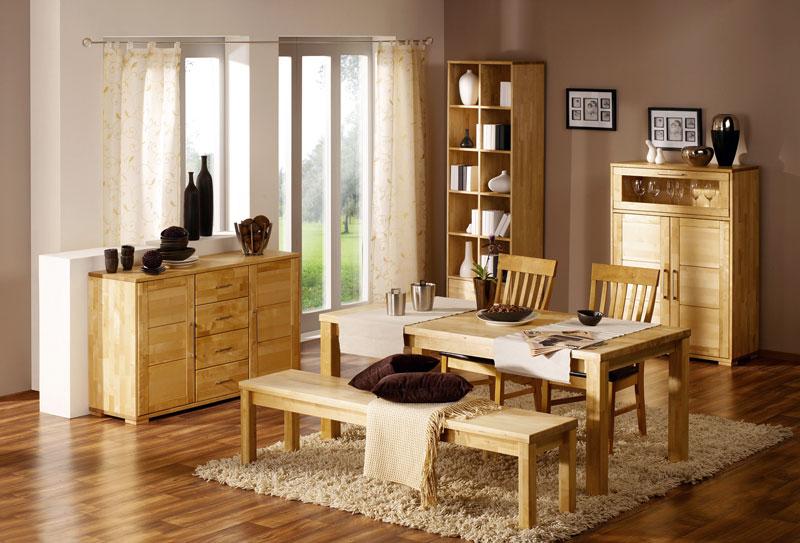 Корпусная мебель из светлой сосны