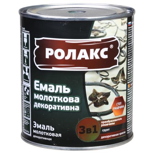 Краска молотковая по дереву Ролакс (кофе с молоком)