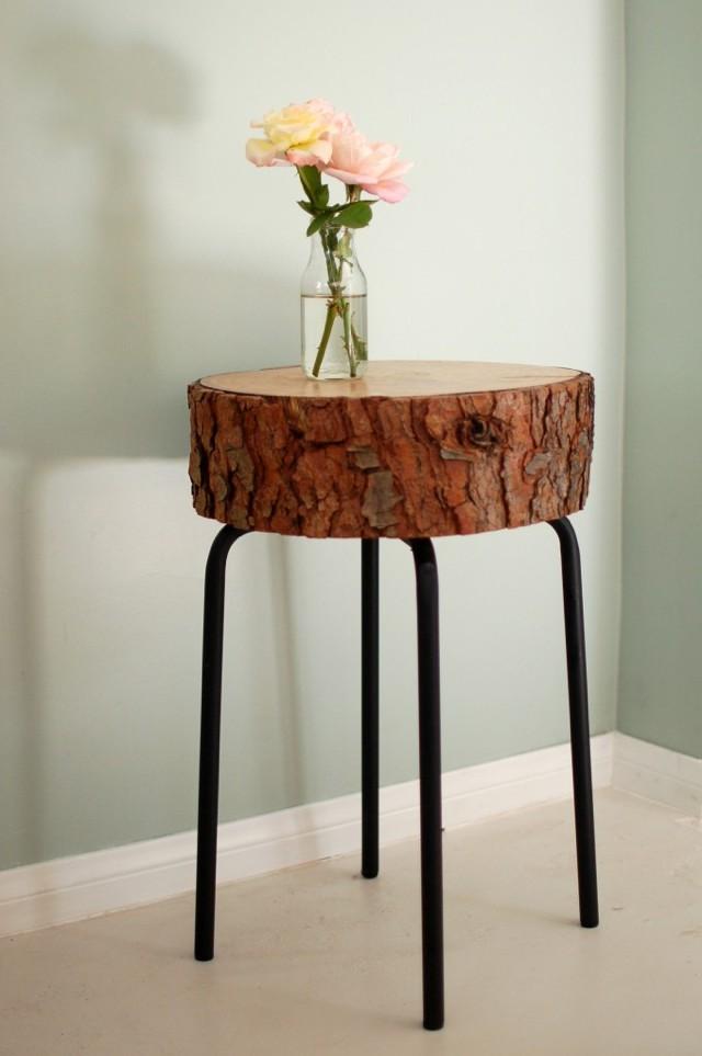 Декор стола из дерева