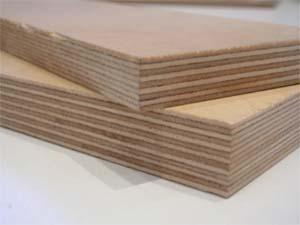 Листы, состоящие из 9 и 13 слоев шпона.