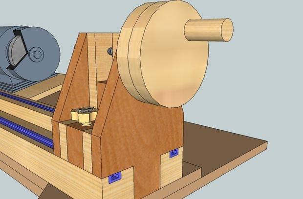 Как сделать самому станок для дерева