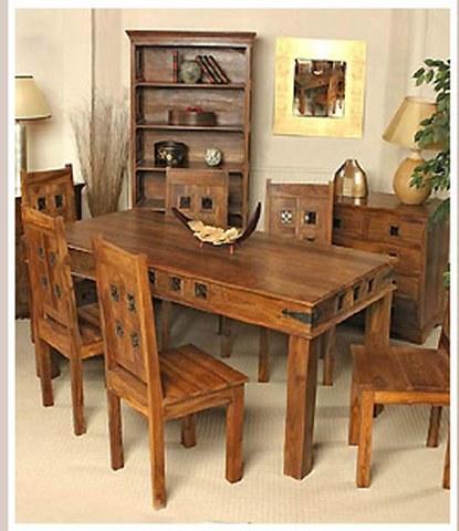 Мебель из состаренного дерева