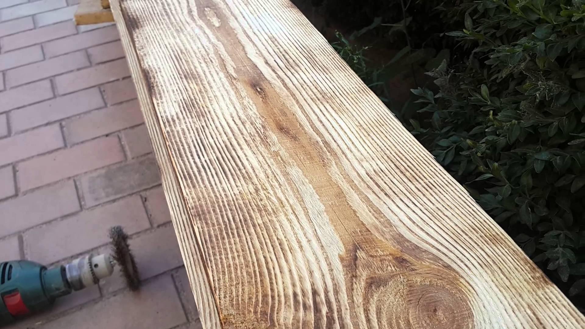 Состаривание дерева своими руками