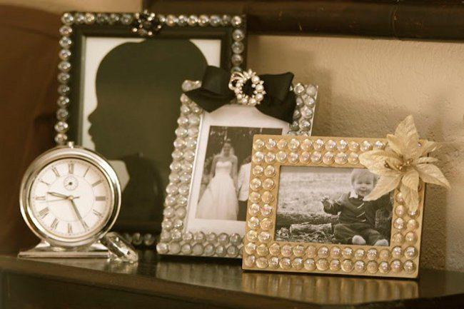 Рамки для фотографий с декором