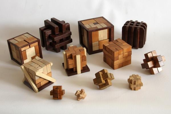 Кубик в кубике из дерева своими руками