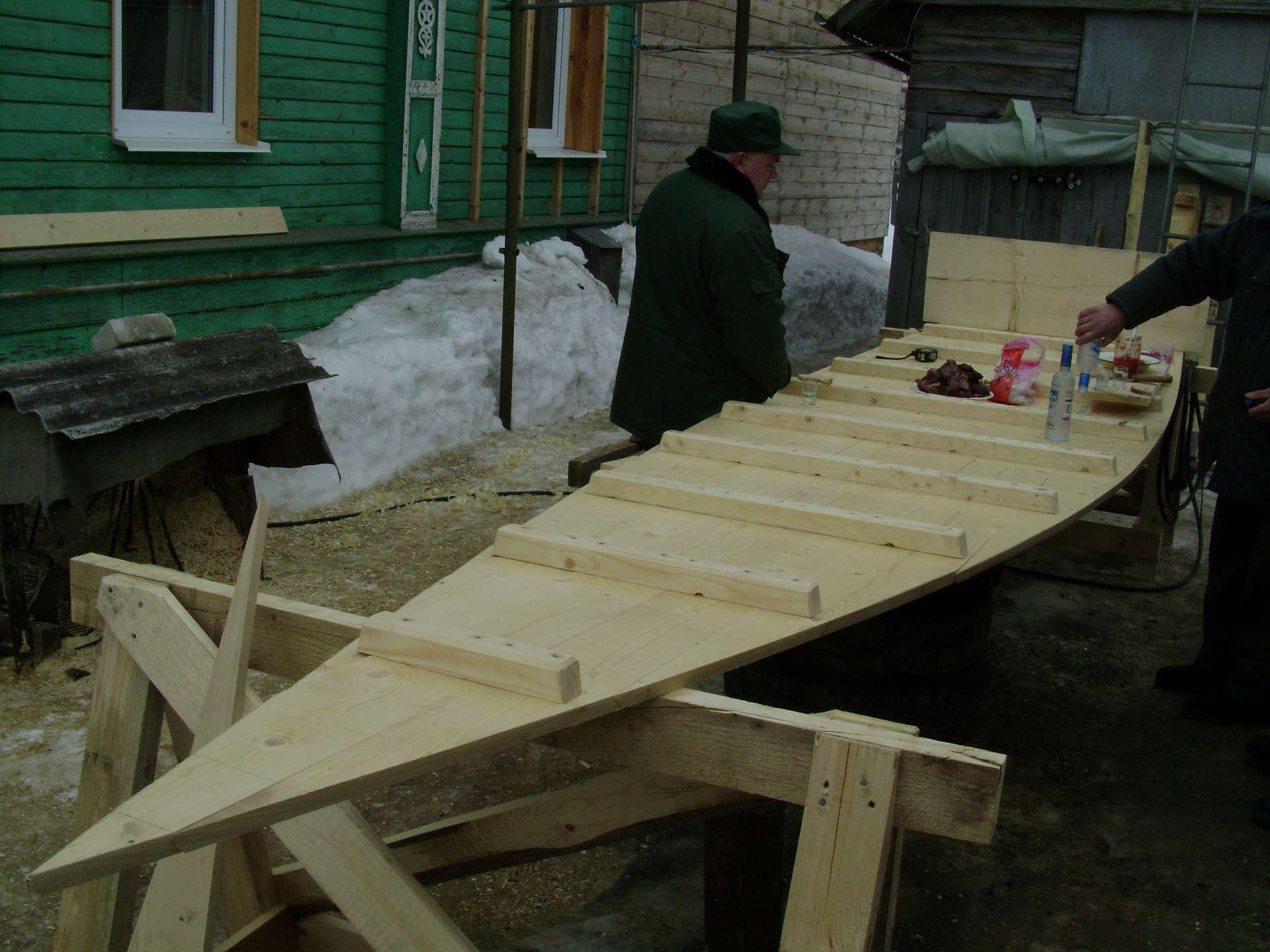Как построить лодку плоскодонку своими руками видео