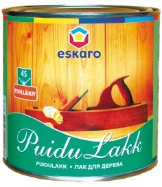 На фото - износостойкий лак Puidulakk-45 Eskaro
