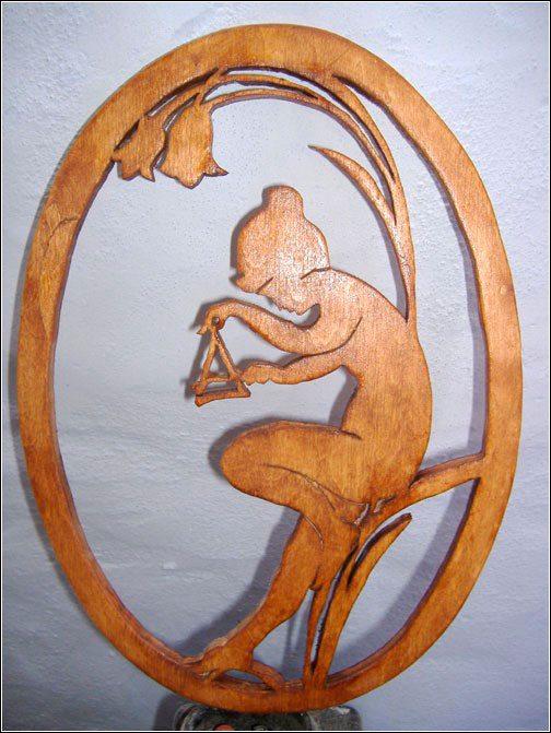 Поделки из дерева вырезанные лобзиком 16