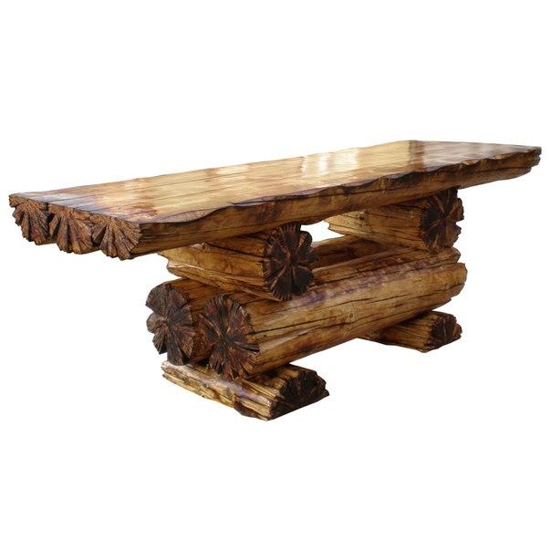 На фото - яркий пример умелого использования древесины