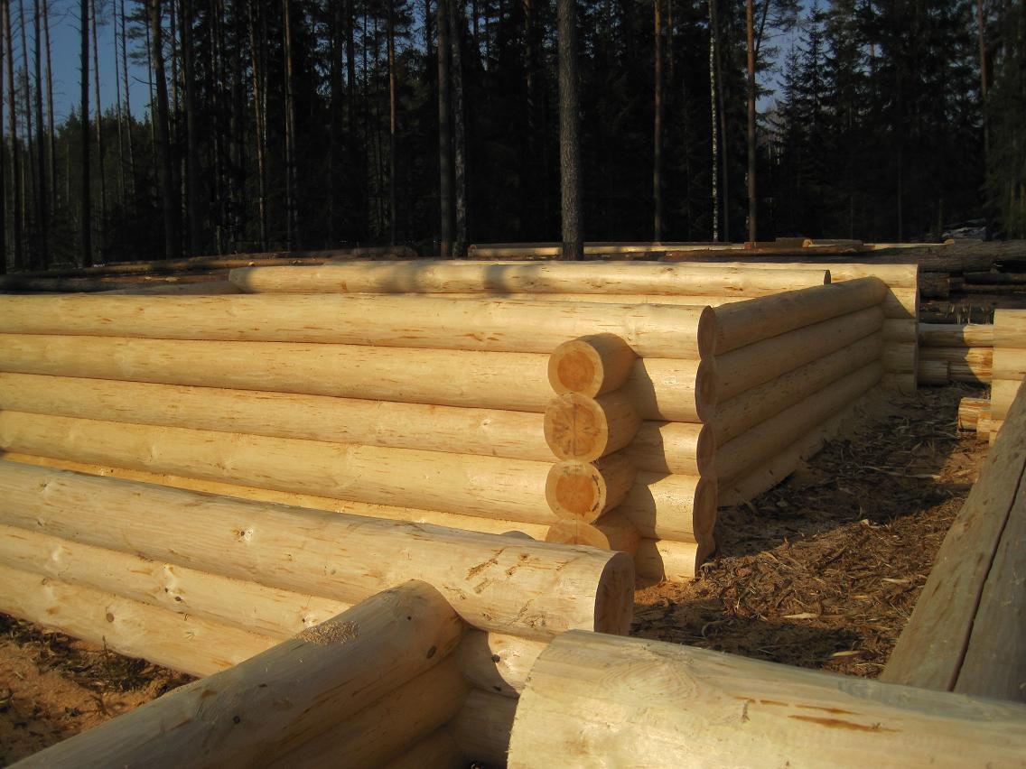 Как сделать деревянный сруб для дома 67