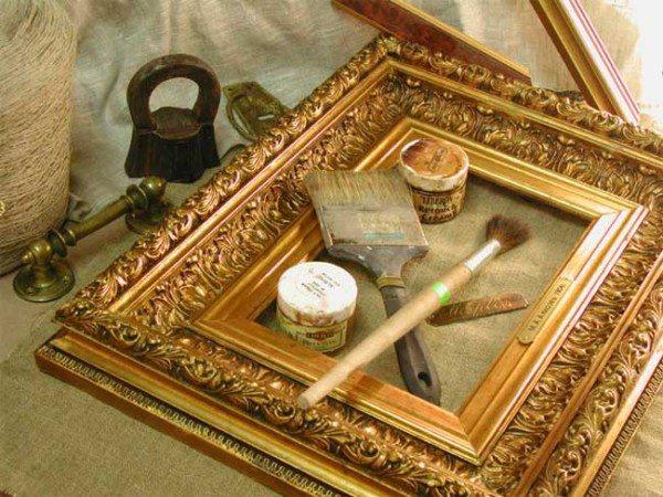 На фото: изготовление багета для картин своими руками гораздо проще, чем кажется на первый взгляд