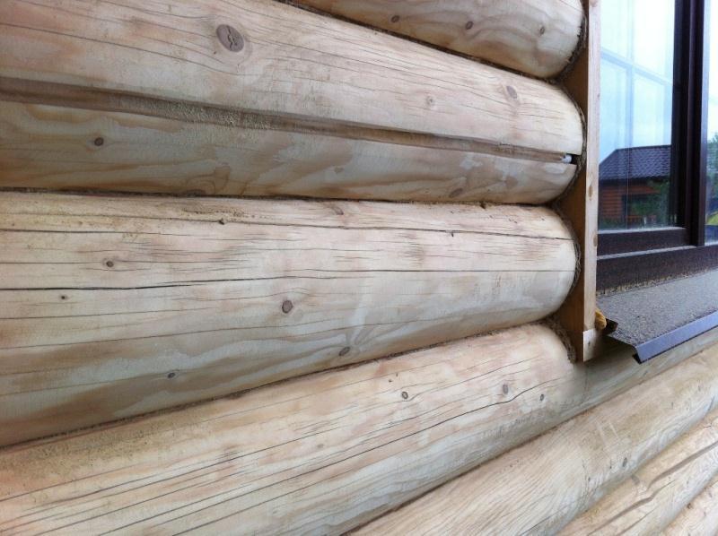 На фото поверхность древесины до покраски