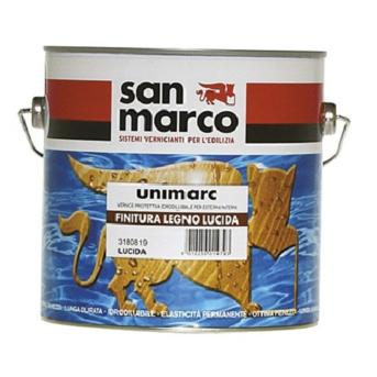 На фото: Unimarsfinituralegno – краска без запаха