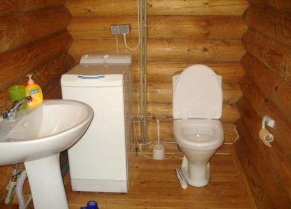 Как сделать благоустроенный туалет в частном доме своими руками фото 39