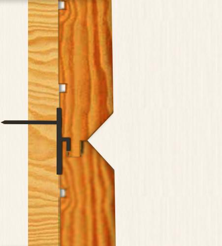 Как правильно крепить имитацию бруса внутри дома