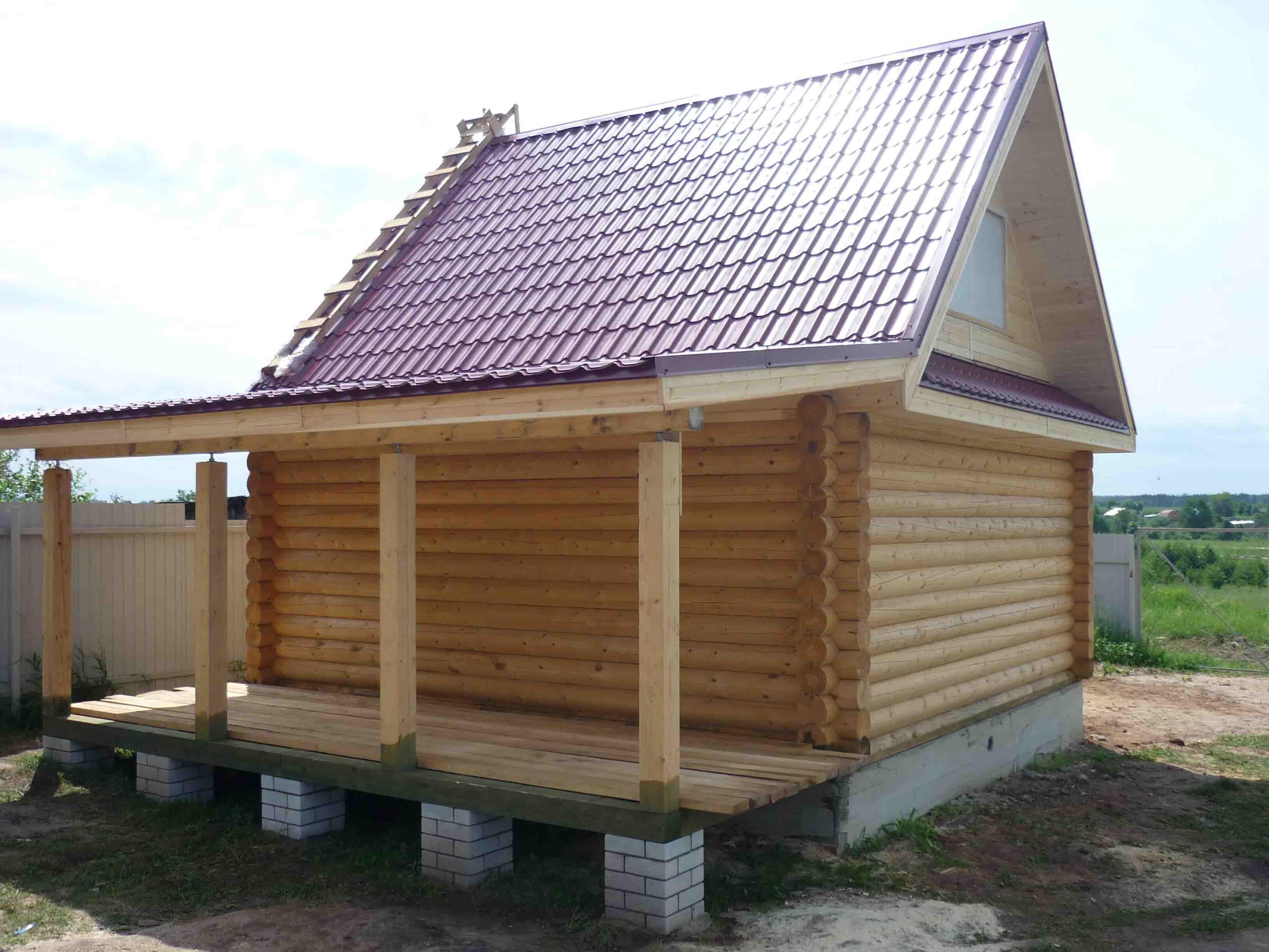 Сколько стоит дом построить своими руками из бруса