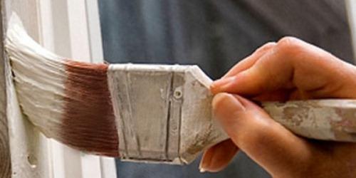 Нанесение масляной краски