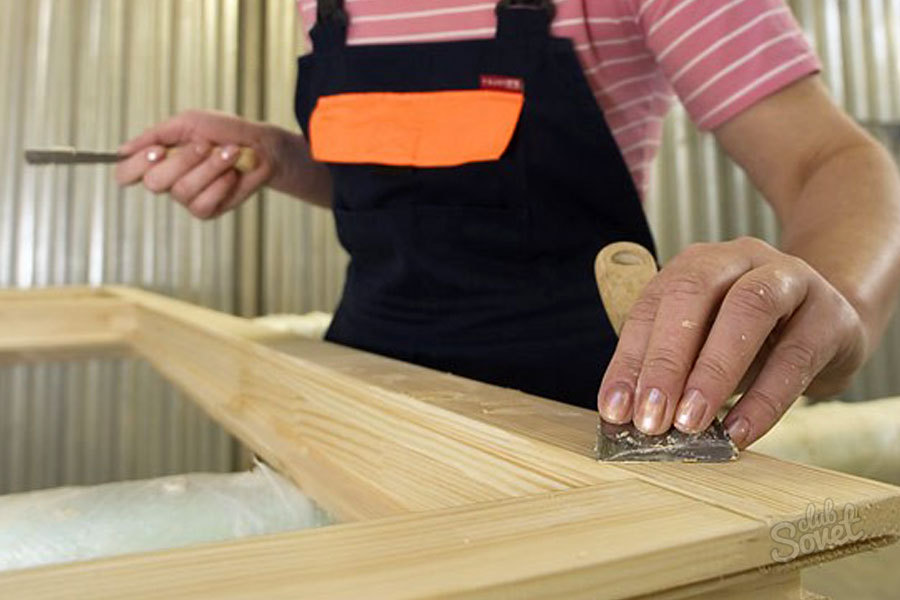 Ремонт своими руками старой деревянной рамы