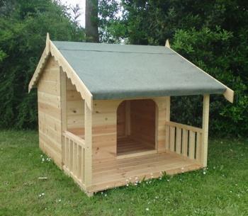 Небольшая собака – небольшая будка.