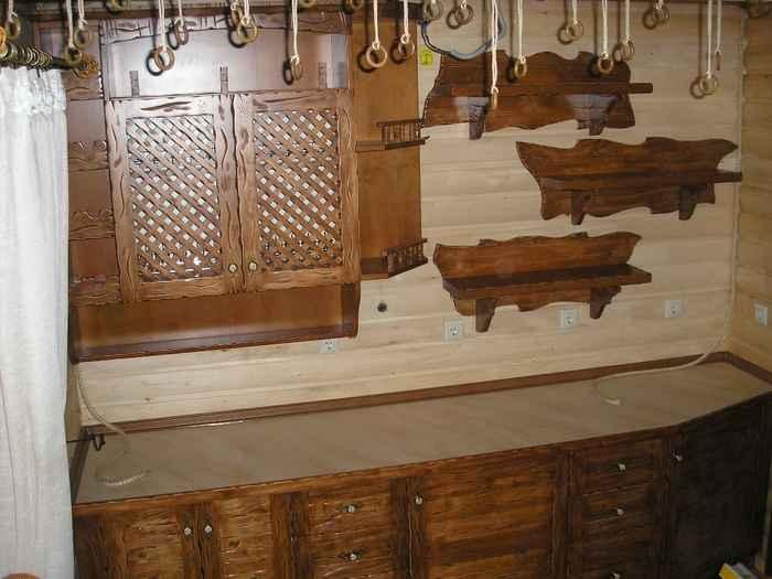 Изделия из дерева своими руками для кухни фото 59