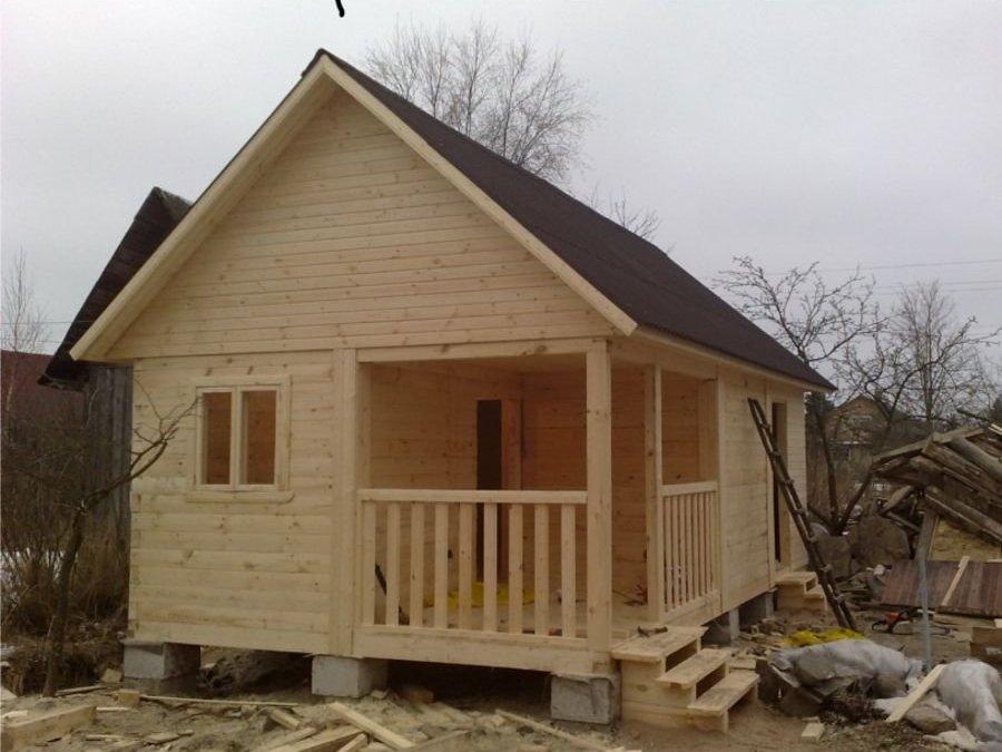 Дешевые деревянные дома своими руками