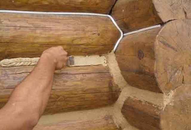 Нередко используют и специализированные шпатлевки для дерева, выдерживающие различные температурные нагрузки