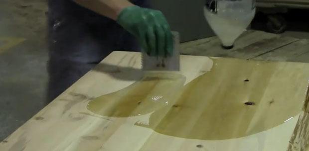 Обработка доски