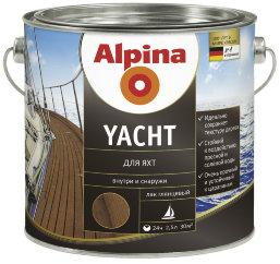 Образец алкидного лака для яхт