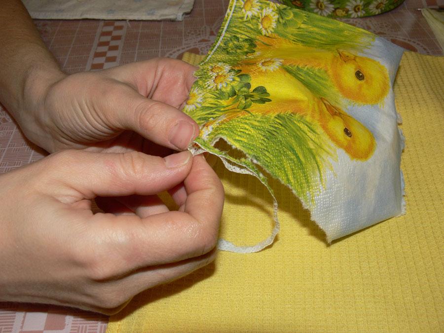 Декупаж из ткани пошагово с