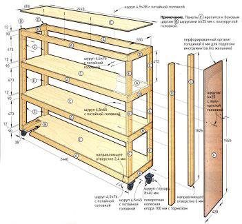 Офисные конструкции часто делаются на колесиках, чтобы при необходимости их можно было без проблем передвинуть в другое место