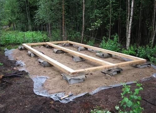 Какую лучше построить баню из бруса или бревна