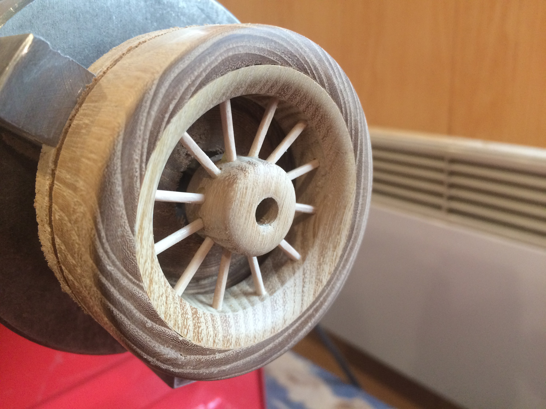 Как сделать колесо для машинки своими руками