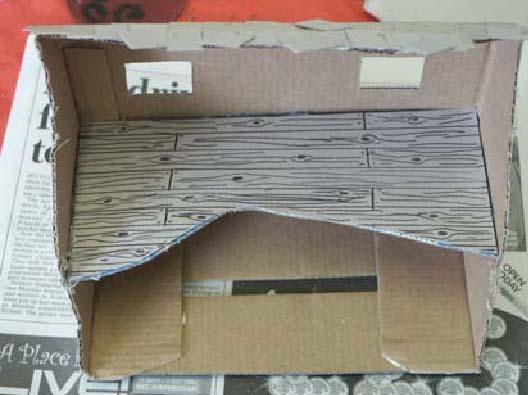 Кукольный домик своими руками из фанеры схема фото 951