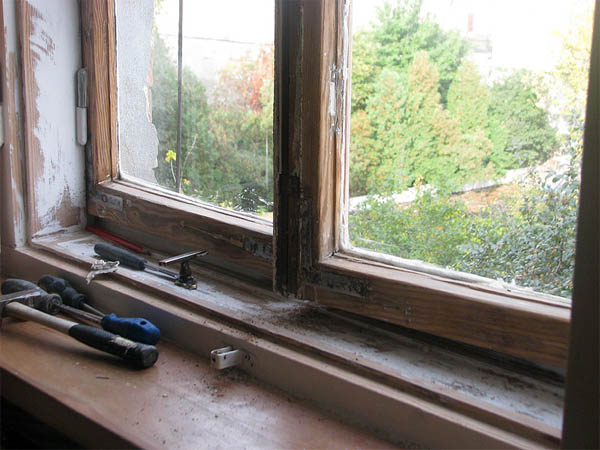 Старые окна замен стекла