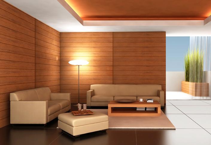 Отделка стен квартиры деревом – оригинальное решение, которое может стать изюминкой вашего интерьера
