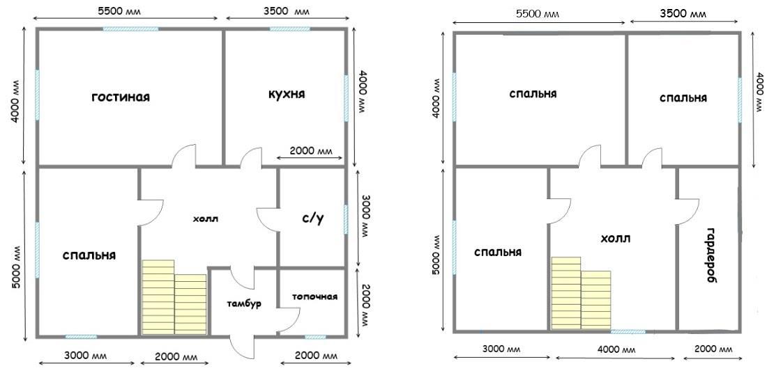 Дизайн дома 7 на 10