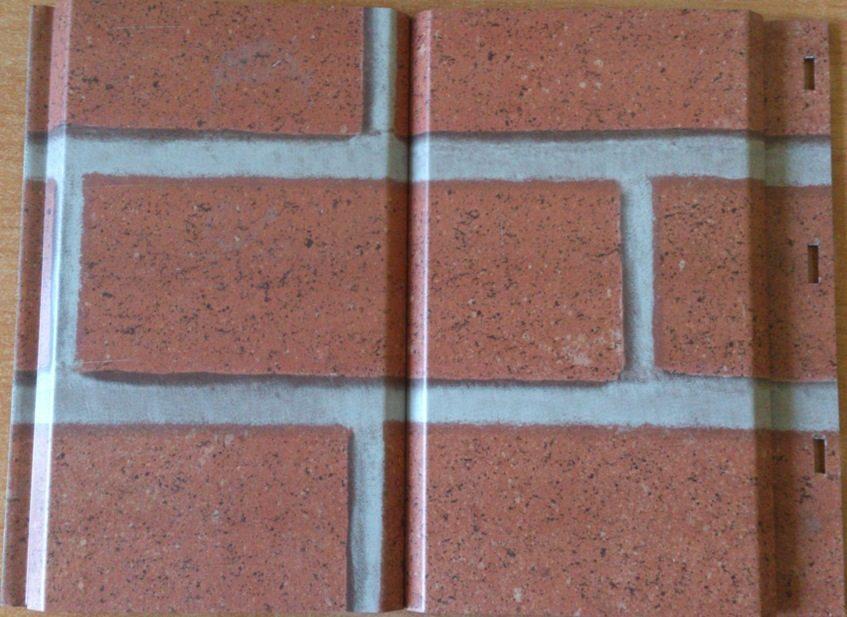 Панели металлосайдинга должны монтироваться вертикально.