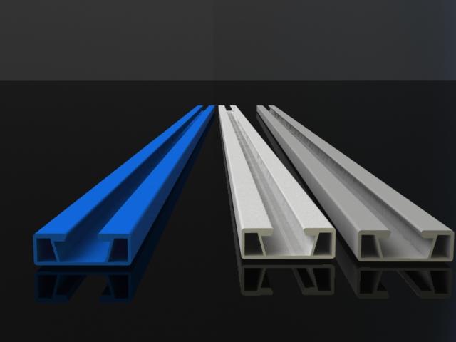 Пластиковые балки для сборки различных монтажных конструкций