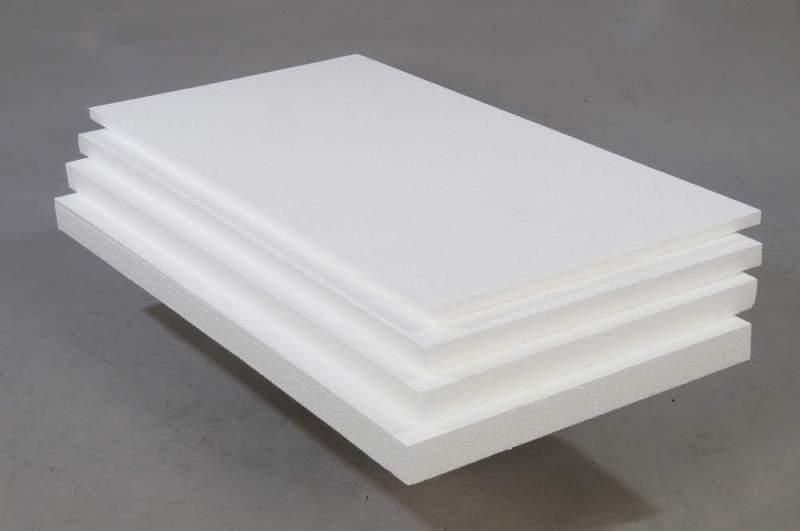 Плиты пенопласта ПБС-35 различной толщины.