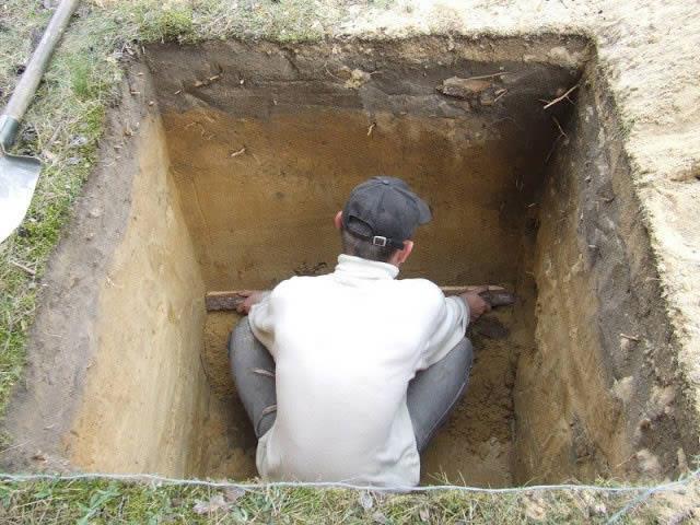 Подготовка выгребной ямы