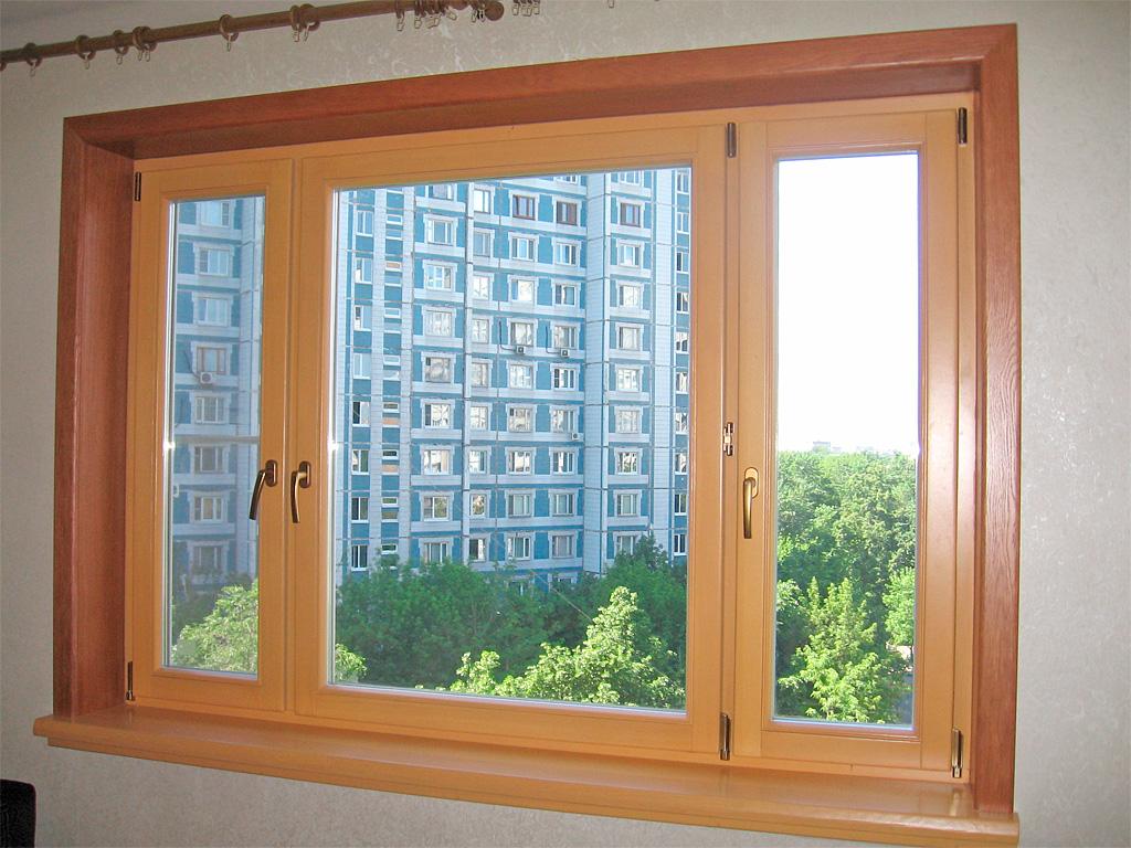 Пластиковые откосы на деревянные окна своими руками