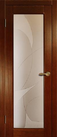 Погонажная дверь
