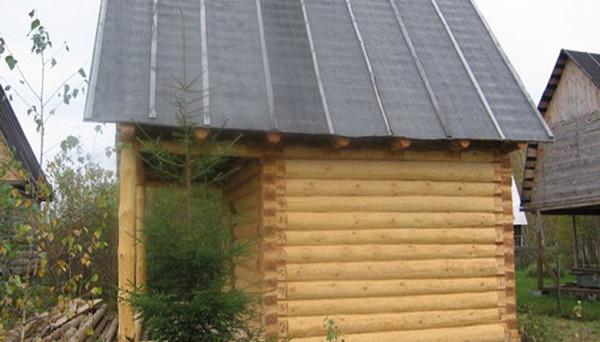 Покрытие деревянной крыши рубероидом