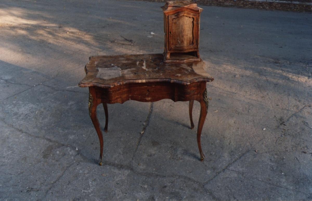 После реставрации столику не будет цены