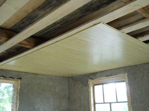 Как сделать потолок своими руками на даче