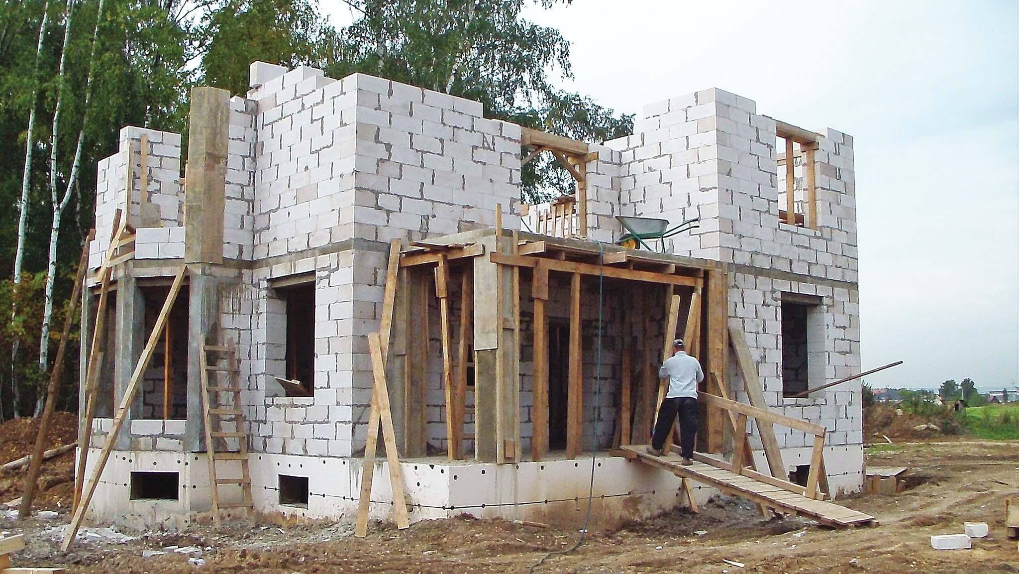 Дом из пеноблоков своими руками поэтапное строительство