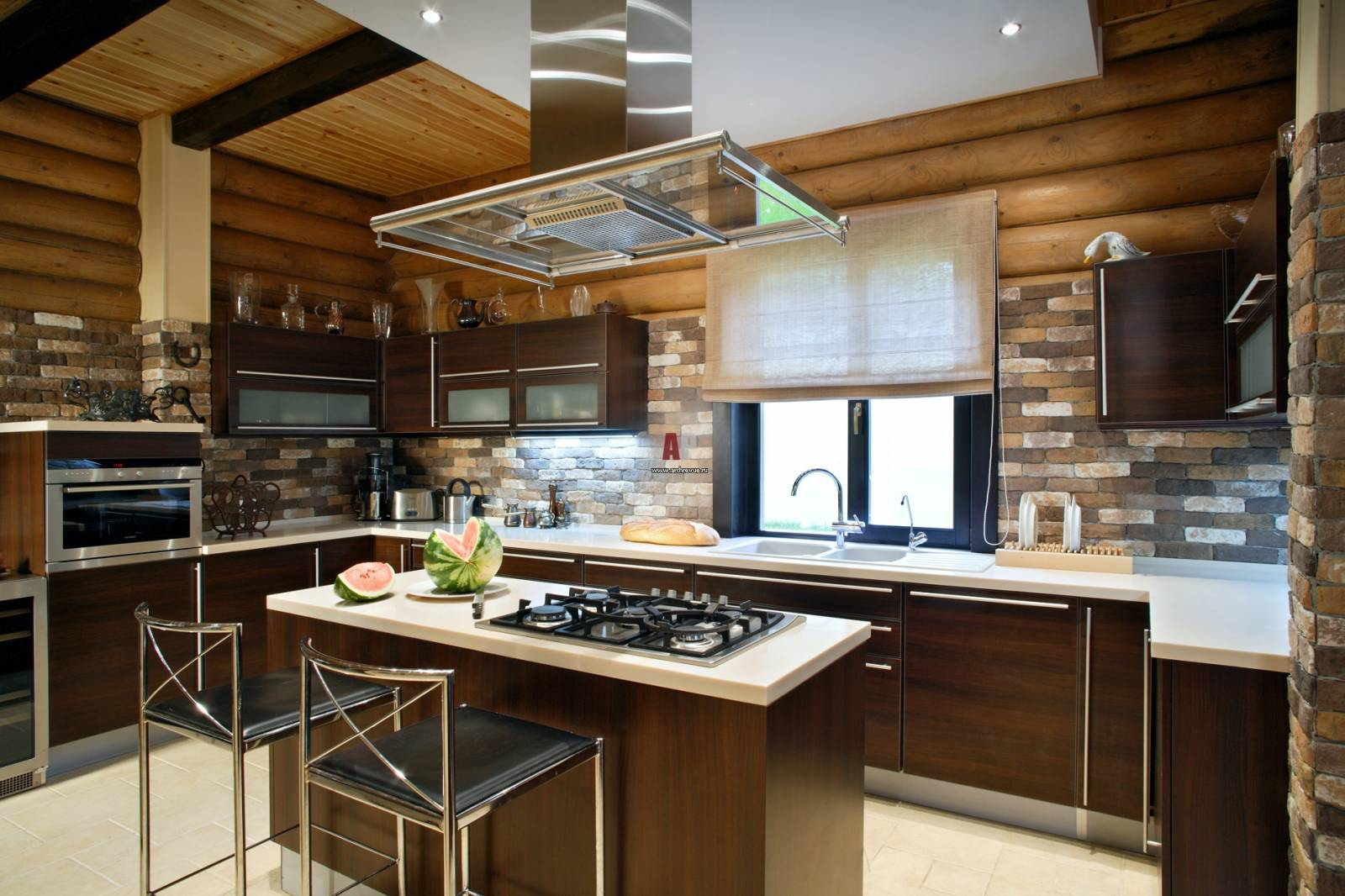 Дизайн кухни фото в доме