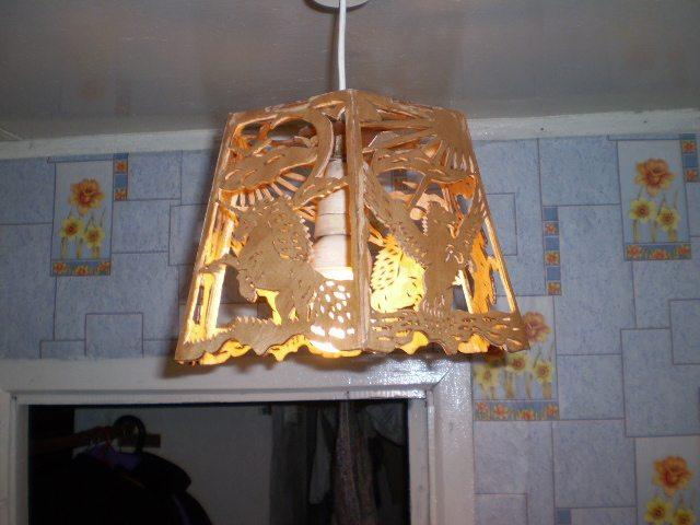 Настольной лампа с фото